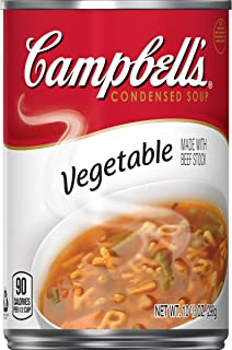 Campbell'sCondensed Vegetable Soup, 10.5 oz. Can (Pack of 12)