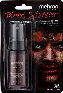 Mehron Makeup Splatter Blood (1 oz)