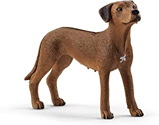 Schleich Farm World Rhodesian Ridgeback Educational Figurine for Kids Ages 3-8