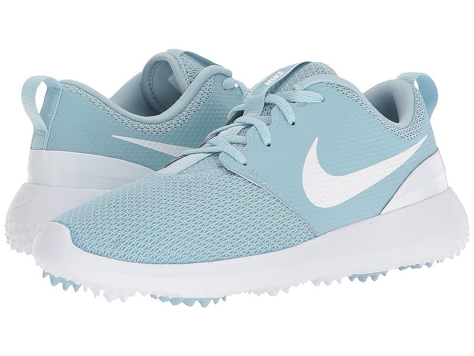 Nike Golf Roshe G (Ocean Bliss/White) Women's Golf Shoes