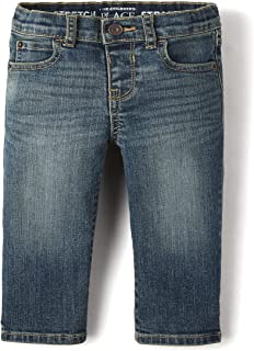 The Children's Place Baby Toddler Boys Stretch Straight Leg Jeans