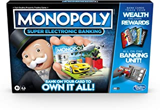 Monopoly Ultimate Rewards Board Game; Electronic Banking Unit; Choose Your Rewards; Cashless Gameplay; Tap Technology; for...