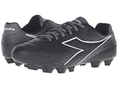 Diadora Mago L LPU (Black/White/Grey) Men