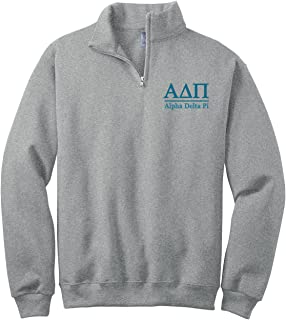 alpha delta pi quarter zip