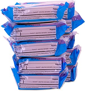 DermaHarmony 5% Sulfur 2% Salicylic Acid Bar Soap 4 oz – Crafted for those with Seborrehic Dermatitis, Dandruff, and Psori...