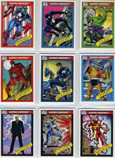 marvel trading cards 1990