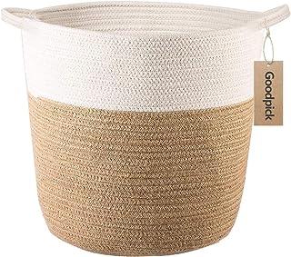 Goodpick – Cesta de Almacenamiento de Cuerda de algodón