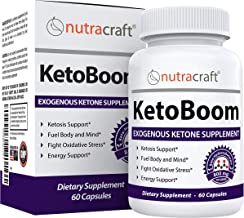 KetoBoom #1 Exogenous Ketones Diet Pills   Burn Fat for Energy with Ketosis   Keto BHB Salts Boost Energy and Support Weig...