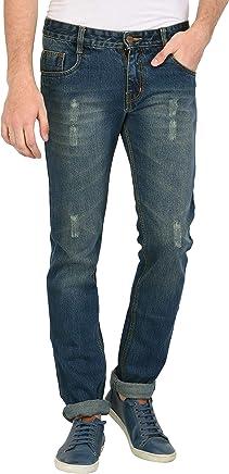 STUDIO NEXX Men's Slim Fit Jeans