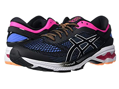 ASICS GEL-Kayano(r) 26 (Black/Blue Coast) Women