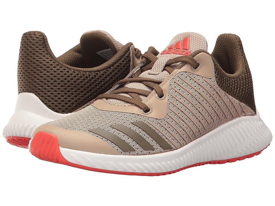 adidas Kids FortaRun K (Little Kid/Big Kid) (Trace Khaki/Trace Olive/Energy) Boys Shoes