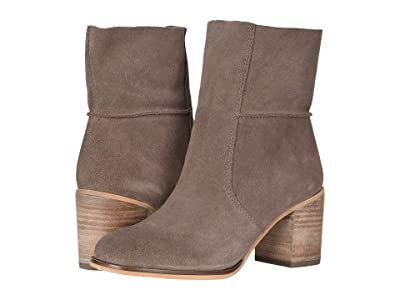 FRYE AND CO. Phoebe Slouch Mid (Aubergine Suede) Women