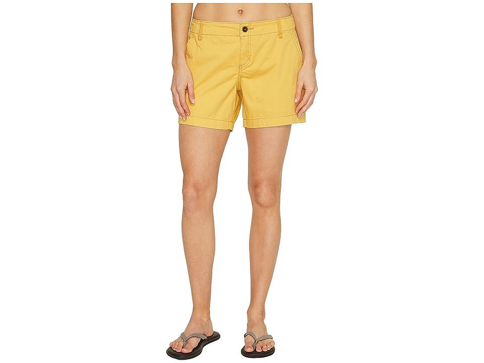 Royal Robbins Ventura Shorts (Ochre) Women