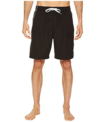 Speedo Marina Volley Swim Trunk (Black/White) Men