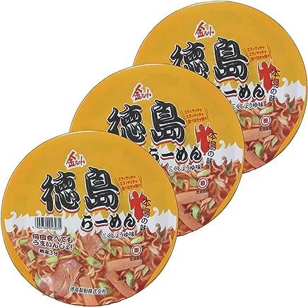 徳島製粉 金ちゃん 徳島ラーメンカップ 102g×3個