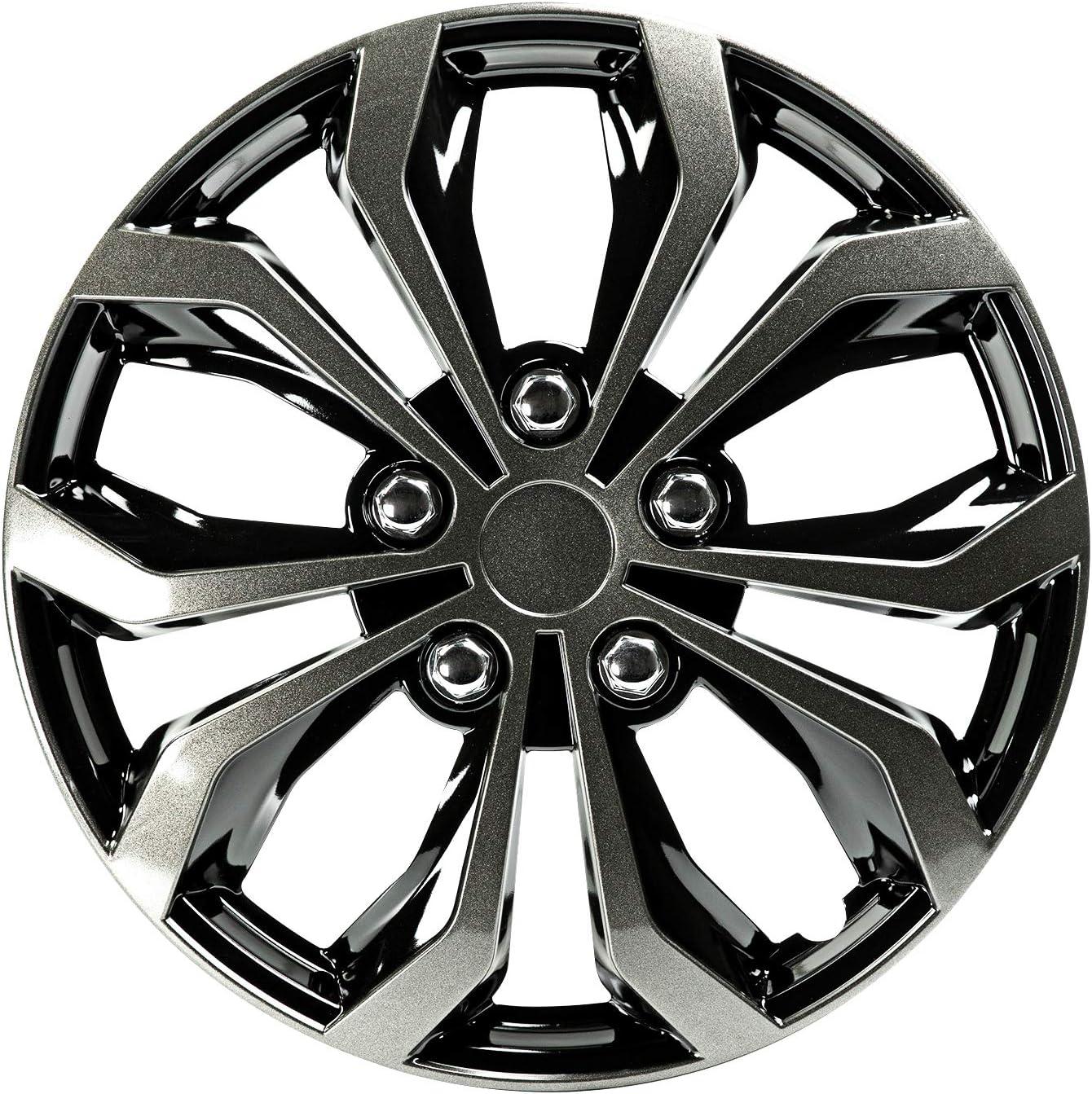 Ranking TOP14 PILOT Spyder Performance Wheel Attention brand Cover Black Gun WH138-17GB Metal