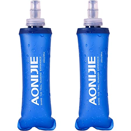 TRIWONDER Soft Flasks Water Bottles Collapsible Running Flasks for Hydration Pack Backpack Hiking Cycling
