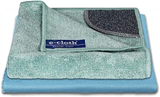 E-Cloth Kitchen Microfiber Cleaning Pack, 1 Kitchen Cloth & 1 Polishing Cloth, 2 Cloth Set