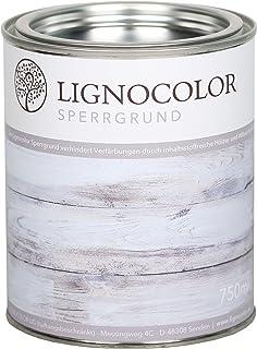 Lignocolor Sperrgrund Transparent, 750 ml auf Wasserbasis Isoliergrund Kreidefarbe 750 ml