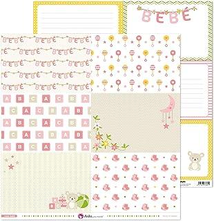 Anita y Su Mundo Collection Rose Bébé Papiers de Scrapbooking, Paper, 30,5 x 30,5 cm