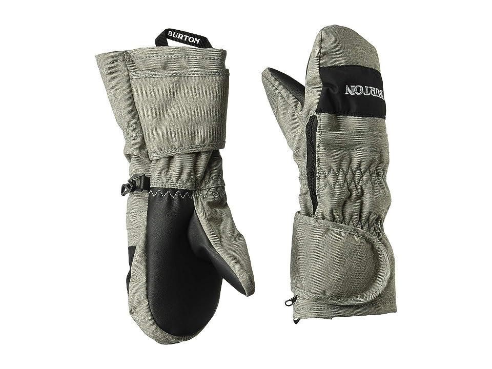Burton Kids Minishred Mitt (Toddler) (Bog Heather/True Black) Snowboard Gloves