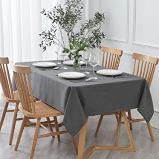 maxmill Jacquard Tablecloth Stain Resistant Waterproof Wrinkle Resistant Spillproof Washable Soft Textured Table Cloth for...