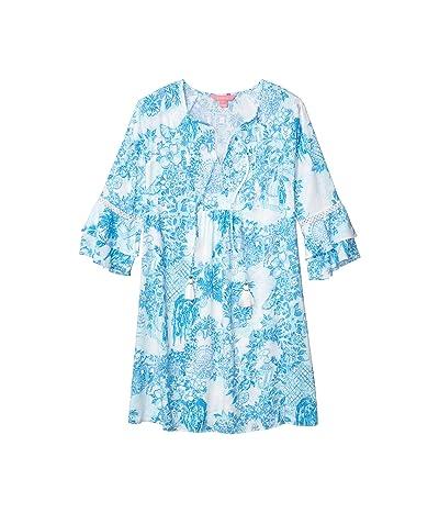 Lilly Pulitzer Azita Tunic Dress (Multi Toile Me About It) Women