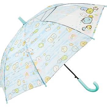 すみっコぐらし 長傘 子供用 ジャンプ キャラクター キッズ傘 すみっコぐらし ブルー 50cm 70080