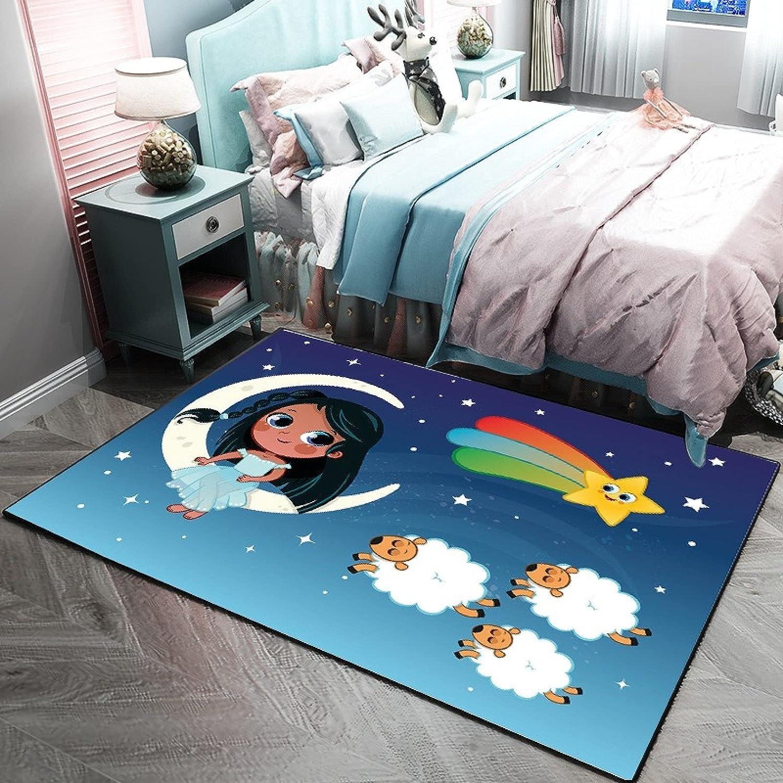 Limited time cheap sale PIPIXIA Cute Cartoon Children's Bedroom Ca Carpet Modern Manufacturer OFFicial shop Simple