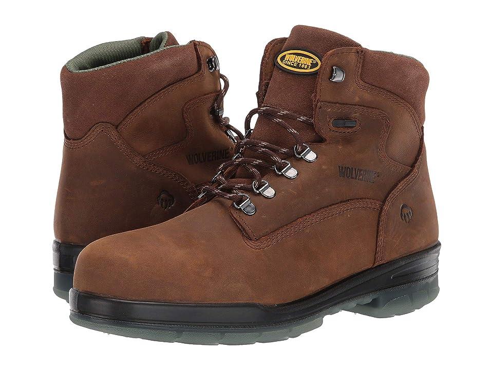 Wolverine 6 I-90 Durashocks(r) Insulated Steel Toe WP Boot (Malt) Men