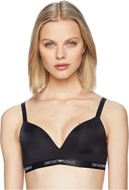 Iconic Microfiber Padded Triangle Bra