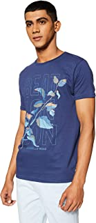 Beat London by Pepe Jeans Men's Printed Slim Fit T-Shirt