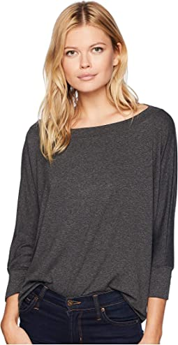 Elevated French Terry Wide Neck Pullover