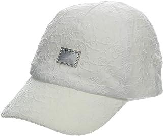 maximo Basecap Schmetterlinge, Weiß Gorra para Niñas