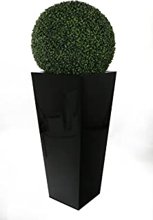 Closer to Nature Artificial 55cm Boxwood Ball Topiary - Artificial Silk Plant and Tree Range
