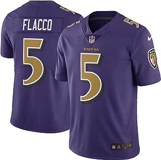 Joe Flacco Baltimore Ravens Purple Color Rush Limited Jersey - Men's XL (X-Large)
