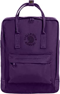 Re-Kanken Recycled and Recyclable Kanken Backpack for Everyday, Deep Violet