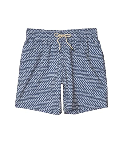 Faherty Beacon Trunks (Fish Scale Batik) Men