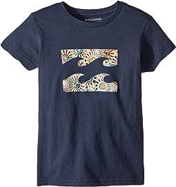 Billabong Kids - Team Wave T-Shirt (Toddler/Little Kids)
