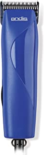 Andis EasyClip Pro-Animal 7-Piece Detachable Blade Clipper Kit, Pet Grooming, Blue, MBG-2