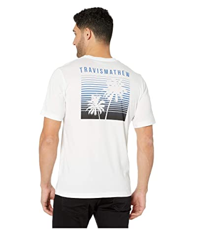 TravisMathew Extra Hot Sauce T-Shirt (White) Men