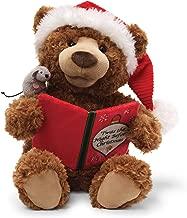 GUND Storytime Teddy Bear Animated Holiday Stuffed Animal Plush, 13