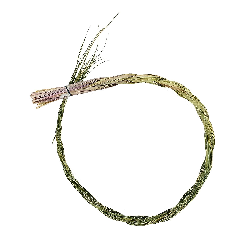 殺すバスルーム周囲Alternative想像力Sweetgrass Incense三つ編み、Extra Largeサイズ、長さ24インチ