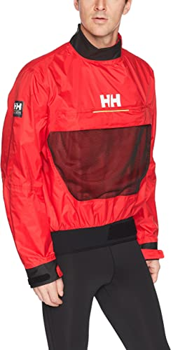 Helly Hansen HP Smock Top Blouson De Sport Homme, Rouge (rouge 222), XX-grand (Taille Fabricant  2XL)
