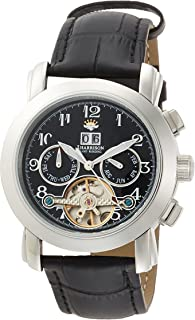 [ジョン・ハリソン]J.HARRISON カラクリ 自動巻き メンズ 腕時計 JH-044HBB ブラック jh-044hbb メンズ 【正規輸入品】