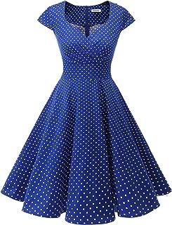 d052a7ffa1 Bbonlinedress Women Short 1950s Retro Vintage Cocktail Party Swing Dresses