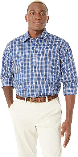 Long Sleeve Tattersal Dress Shirt - Spread Collar