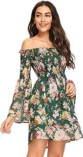 Best floral off shoulder Reviews
