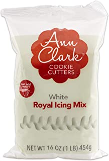 Ann Clark Cookie Cutters Royal Icing Mix: White, 16oz Bag