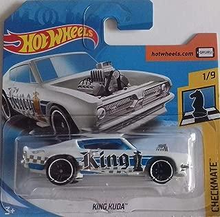 Hot Wheels 2018 Checkmate King Kuda (King) 362/365, White